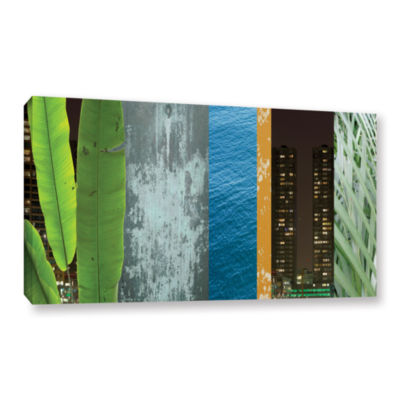 Brushstone IMixed Industry II Gallery Wrapped Canvas