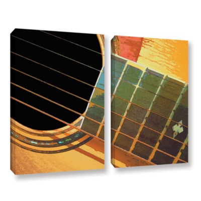Brushstone Impresion de la Guitarra 2-pc. GalleryWrapped Canvas Set