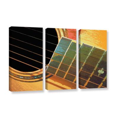Brushstone Impresion De La Guitarra 3-pc. GalleryWrapped Canvas Wall Art