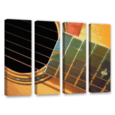 Brushstone Impresion de la Guitarra 4-pc. GalleryWrapped Canvas Set