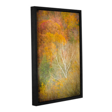 Brushstone In Autumn Gallery Wrapped Floater-Framed Canvas