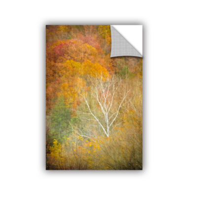 Brushstone In Autumn Removable Wall Decal