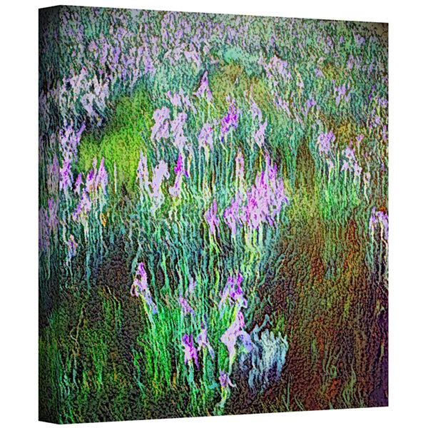 Brushstone In Dream Meadow Gallery Wrapped Canvas