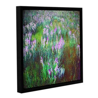 Brushstone In Dream Meadow Gallery Wrapped Floater-Framed Canvas
