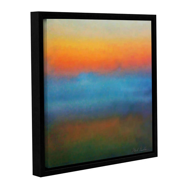 Brushstone In the Mist Gallery Wrapped Floater-Framed Canvas