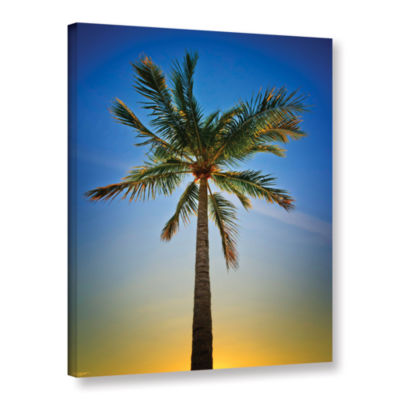 Brushstone In the Shade Gallery Wrapped Canvas