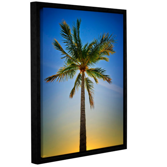 Brushstone In the Shade Gallery Wrapped Floater-Framed Canvas