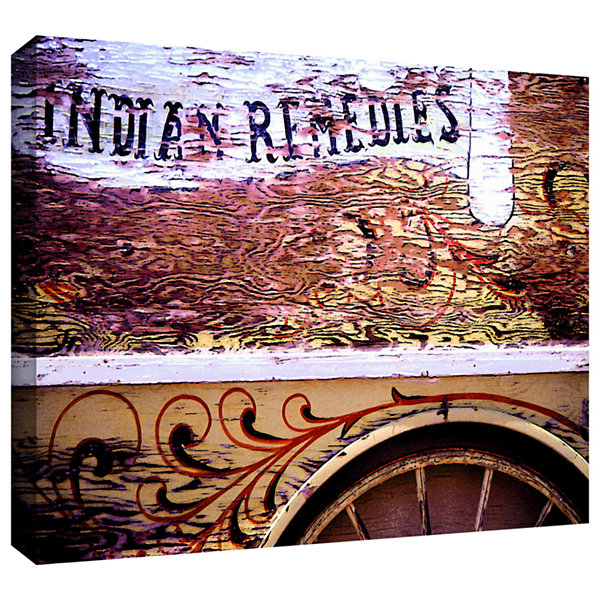 Brushstone Indian Remedies Gallery Wrapped Canvas