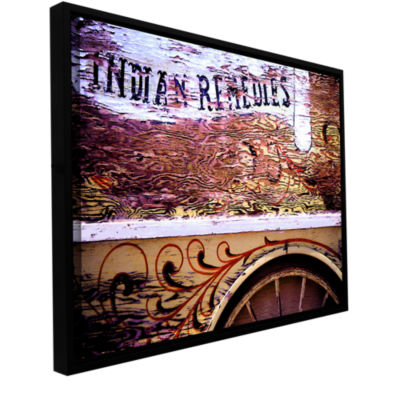 Brushstone Indian Remedies Gallery Wrapped Floater-Framed Canvas