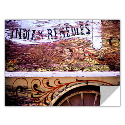 Brushstone Indian Remedies Removable Wall Decal