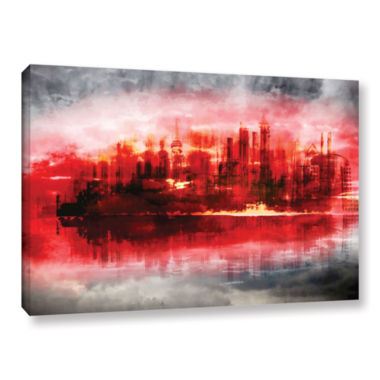 Brushstone Industrial IV Gallery Wrapped Canvas