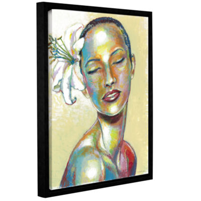 Brushstone Inner Beauty Gallery Wrapped Floater-Framed Canvas