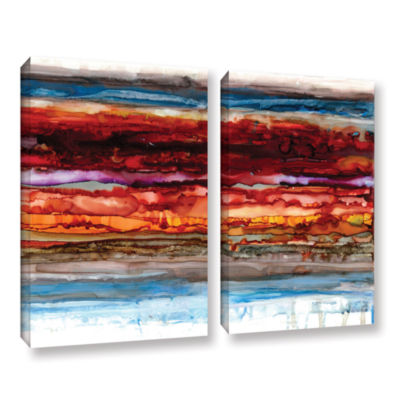 Brushstone Innermost 2-pc. Gallery Wrapped CanvasSet
