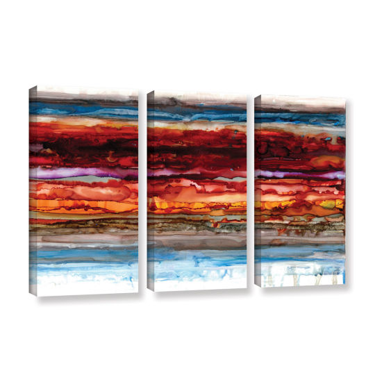 Brushstone Innermost 3-pc. Gallery Wrapped CanvasSet