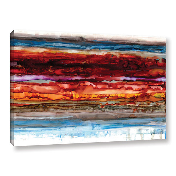 Brushstone Innermost Gallery Wrapped Canvas