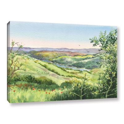 Brushstone Inspiration Point Gallery Wrapped Canvas