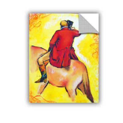 Brushstone Interpretation of The Horseman Removable Wall Decal
