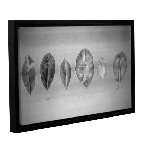 Brushstone Interrupted Gallery Wrapped Floater-Framed Canvas