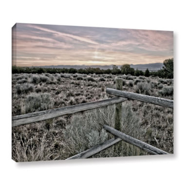 Brushstone Intersection of the Tortoise and Hare Gallery Wrapped Canvas