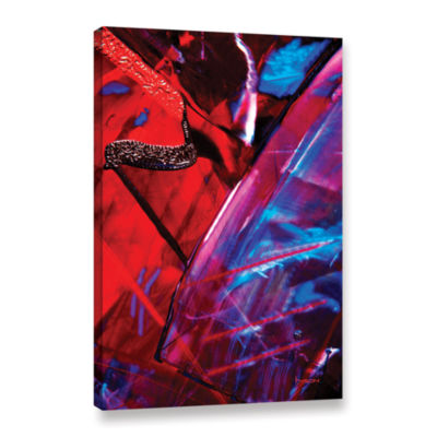 Brushstone Into Abstract Gallery Wrapped Canvas