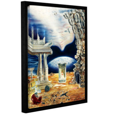 Brushstone Into The Aether Gallery Wrapped Floater-Framed Canvas
