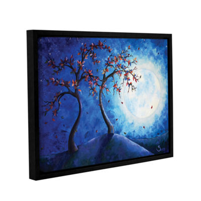 Brushstone Into the Light Gallery Wrapped Floater-Framed Canvas