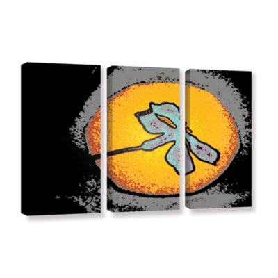 Brushstone Into The Sun 3-pc. Gallery Wrapped Canvas Wall Art