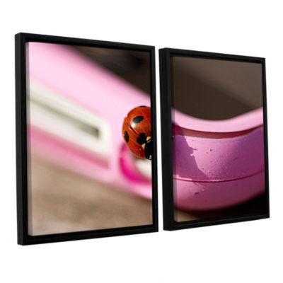 Brushstone Iphonebird 2-pc. Floater Framed CanvasSet