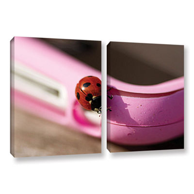 Brushstone Iphonebird 2-pc. Gallery Wrapped CanvasSet