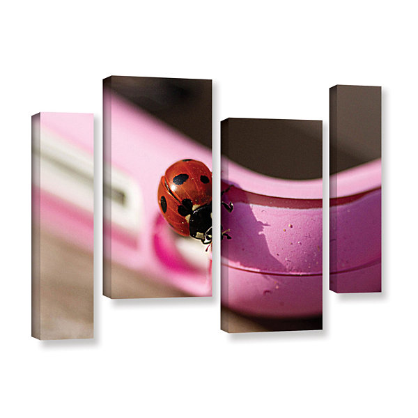Brushstone Iphonebird 4-pc. Gallery Wrapped CanvasStaggered Set