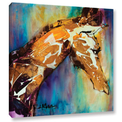 Brushstone Graceful I Gallery Wrapped Canvas