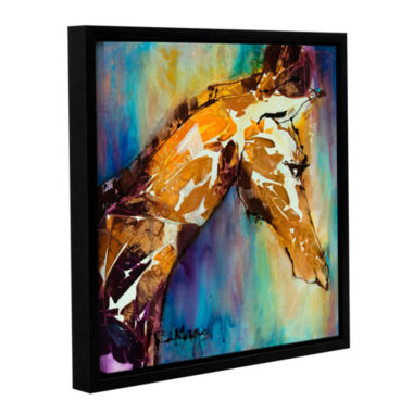Brushstone Graceful I Gallery Wrapped Floater-Framed Canvas