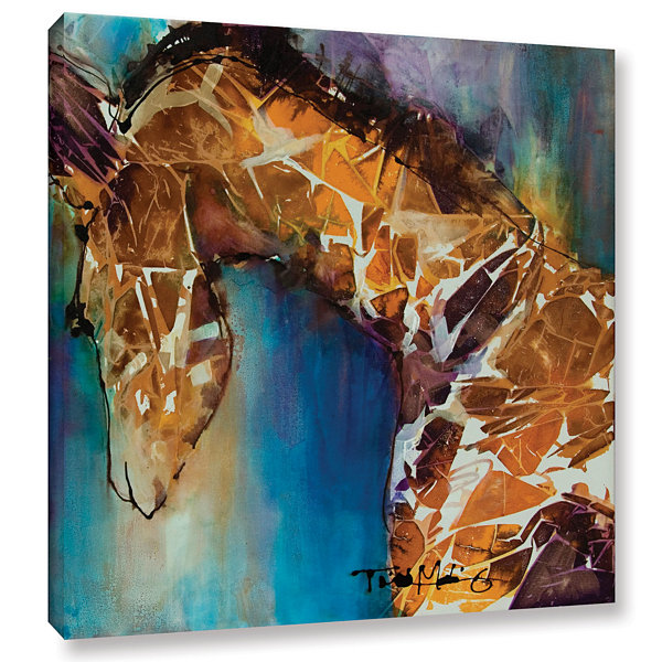 Brushstone Graceful II Gallery Wrapped Canvas