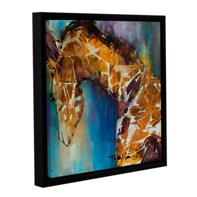 Brushstone Graceful II Gallery Wrapped Floater-Framed Canvas