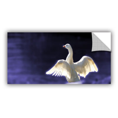 Brushstone Goosewings Removable Wall Decal