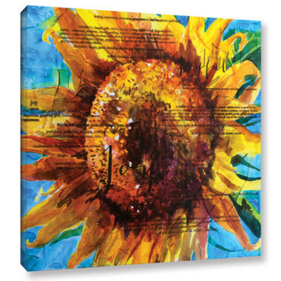 Brushstone Joy Gallery Wrapped Canvas Wall Art