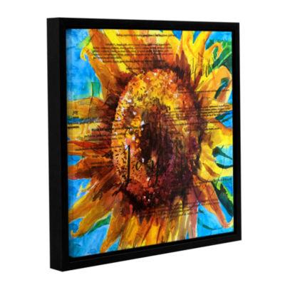 Brushstone Joy Gallery Wrapped Floater-Framed Canvas Wall Art