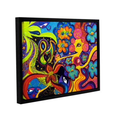 Brushstone Joyful Gallery Wrapped Floater-Framed Canvas Wall Art