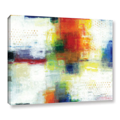 Brushstone Jubliant Gallery Wrapped Canvas Wall Art