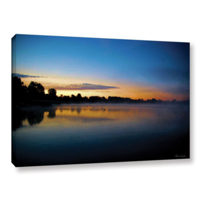 Brushstone July Sunrise Gallery Wrapped Canvas Wall Art
