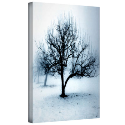 Brushstone Winter Orchard Gallery Wrapped Canvas Wall Art