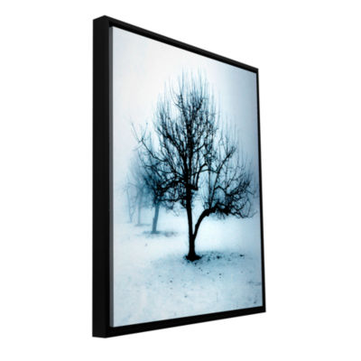 Brushstone Winter Orchard Gallery Wrapped Floater-Framed Canvas Wall Art