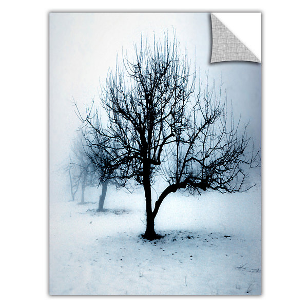 Brushstone Winter Orchard Removable Wall Decal