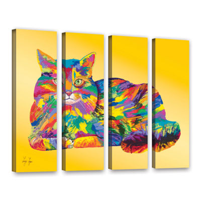 Brushstone Giles 4-pc. Gallery Wrapped Canvas Set