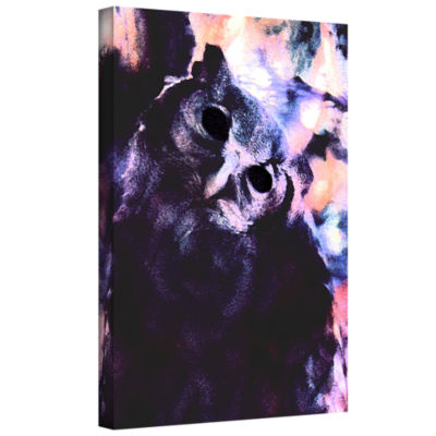 Brushstone Wondering Wise Gallery Wrapped Canvas Wall Art