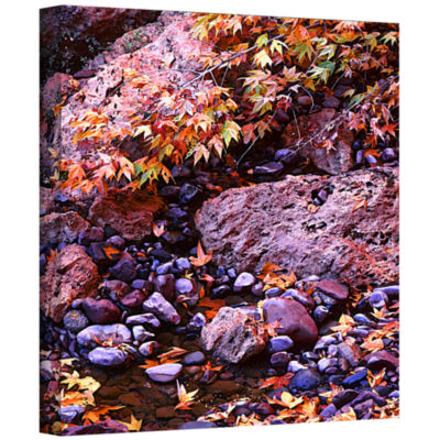 Brushstone Pine Creek Gallery Wrapped Canvas WallArt
