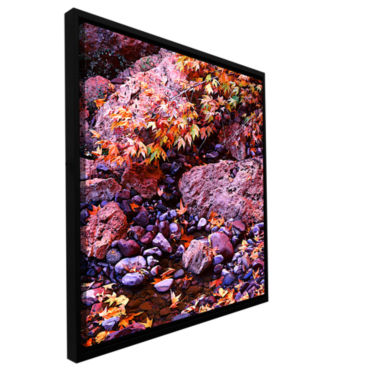 Brushstone Pine Creek Gallery Wrapped Floater-Framed Canvas Wall Art