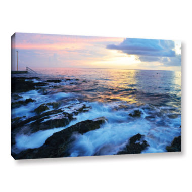 Brushstone Paraiso Reef Gallery Wrapped Canvas Wall Art