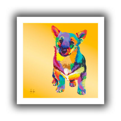 Brushstone George Canvas Wall Art