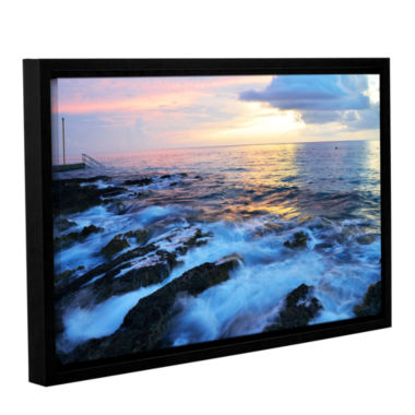 Brushstone Paraiso Reef Gallery Wrapped Floater-Framed Canvas Wall Art